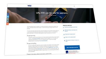 Blog Visa Europa