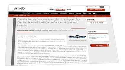 Comunicado de Security Grade