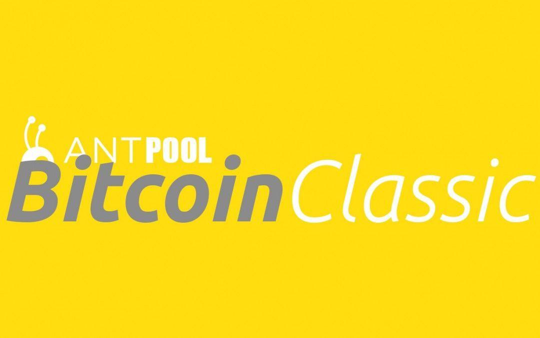 Antpool anuncia el inicio de pruebas con Bitcoin Classic