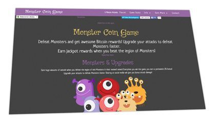 Monster Coin Web