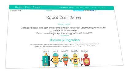 Robot Coin Web