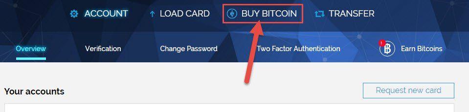Proceso de compra de Bitcoin con WIREX 01
