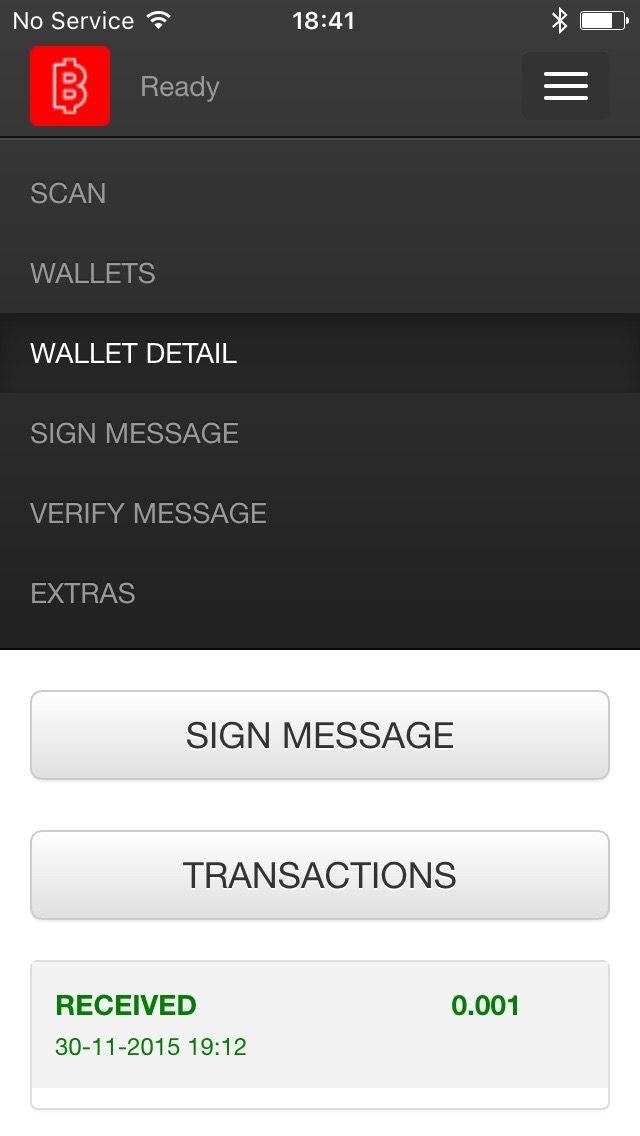 App mobil de BITLOX