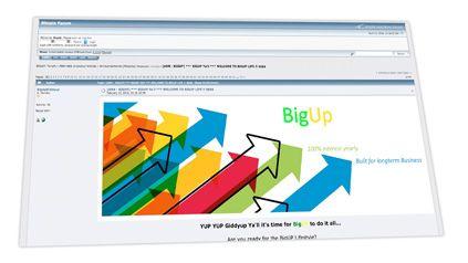 BigUp en BitcoinTalk