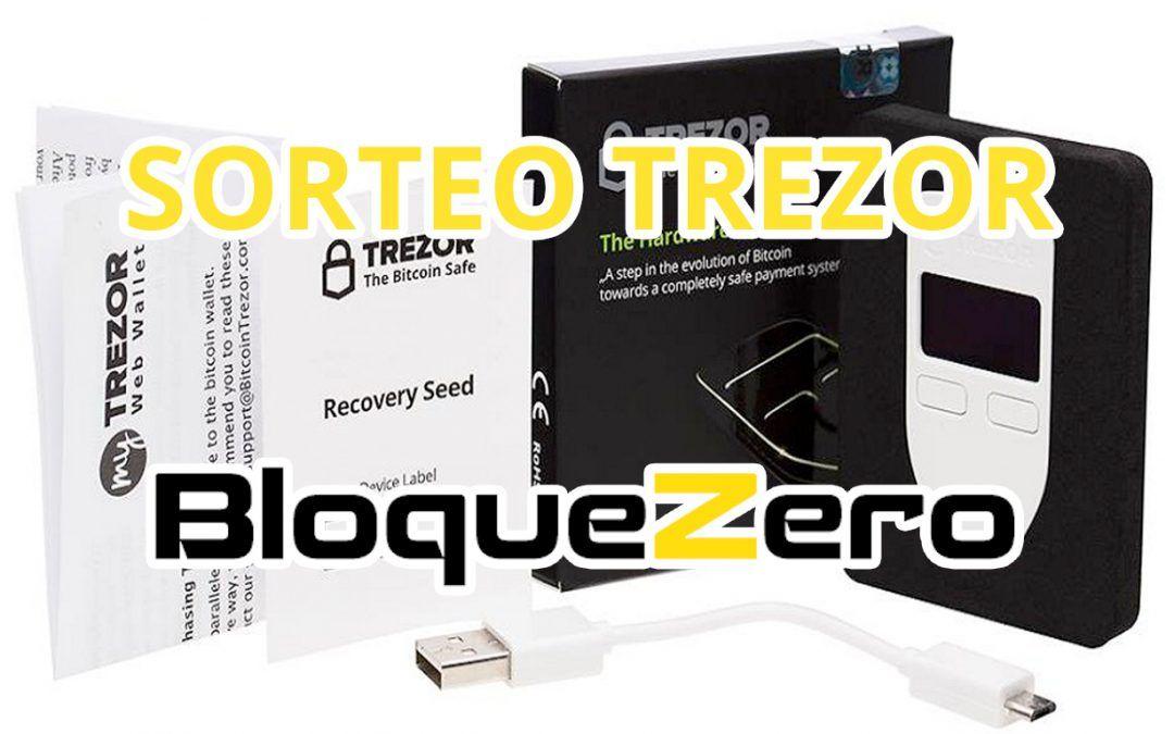 Sorteo Bloque Zero: Consigue un Bitcoin Trezor Gratis