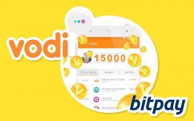 La App de Mensajer?a Vodi a?ade Bitcoin como opci?n de pago para tarjetas de regalo digital