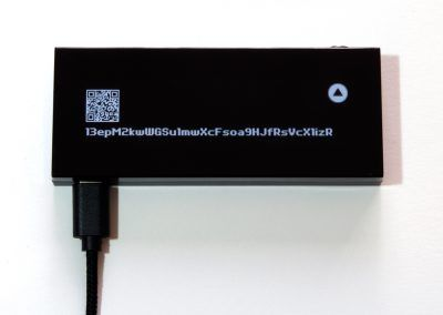 KeepKey display