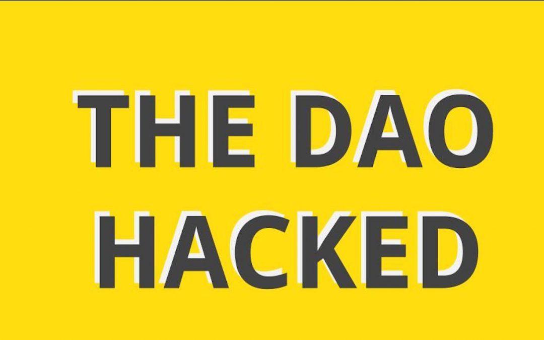 The DAO hackeado, robo masivo de Ether