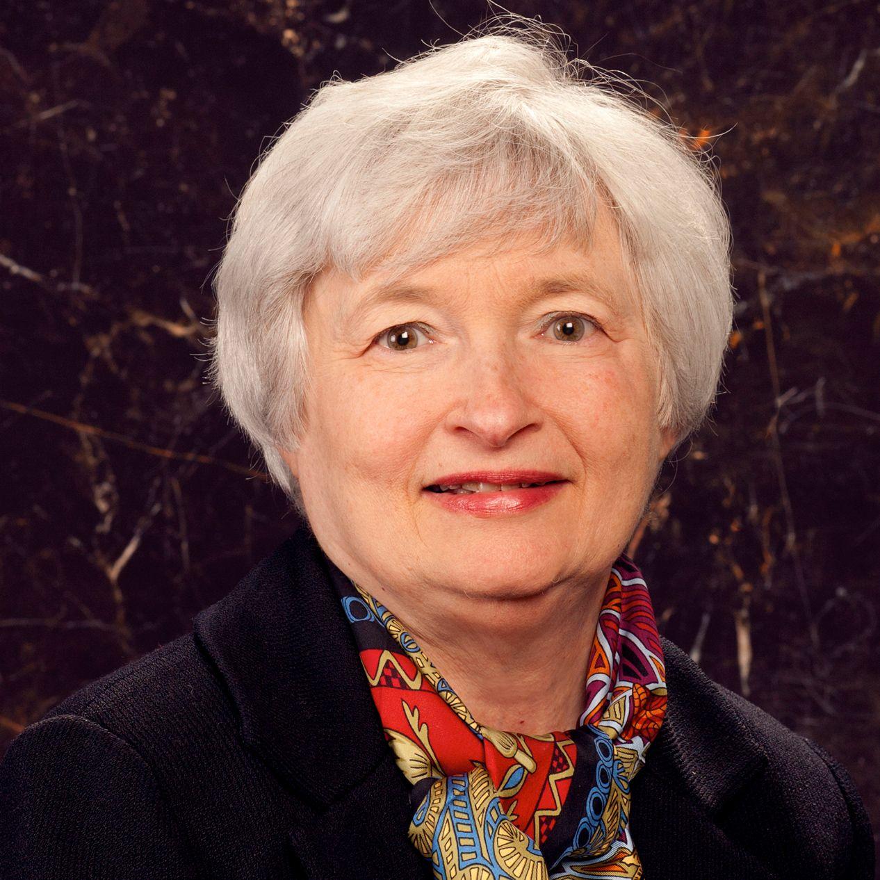 Janet Yellen Presidenta de la Junta de Gobernadores del Sistema de la Reserva Federal