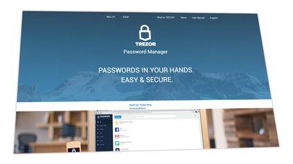 Trezor Password Manager Web